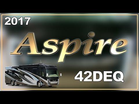 2017 Entegra Coach Aspire 42deq Class A Motorhome Rv For