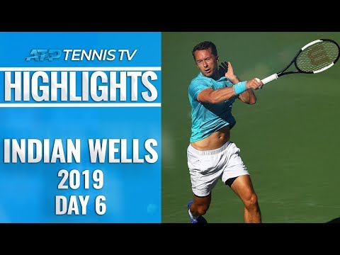 Federer & Nadal Roar On; Djokovic Bows Out | Indian Wells 2019 Highlights Day 6