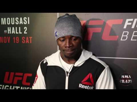 Abdul Razak Alhassan UFC Fight Night Belfast Post Fight Media Scrum