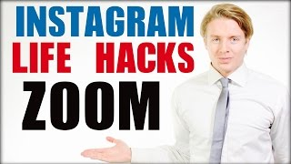Instagram Life Hacks And Tips 2016 Zoom Image On Mobile Or IPhone 6 Tutorial