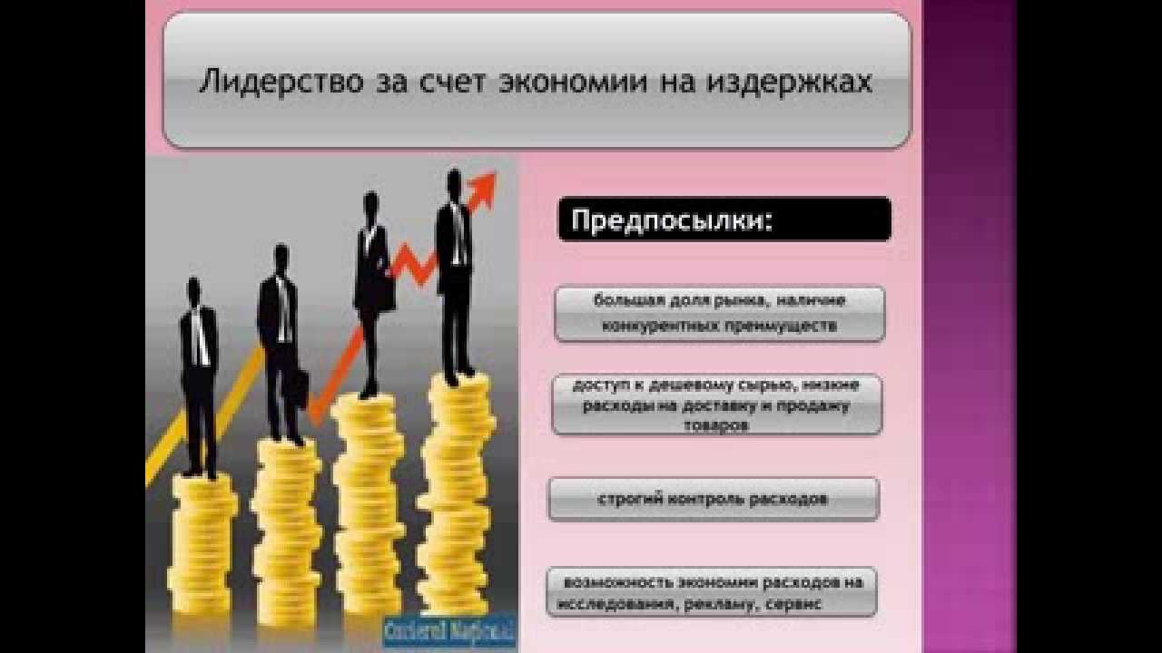 Презентация к защите реферата на тему Эталонные стратегии  Презентация к защите реферата на тему Эталонные стратегии менеджмента по М Портеру