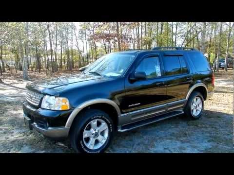2004 FORD EXPLORER EDDIE BAUER * LEATHER * MOONROOF* FOR SALE @ RAVENEL FORD