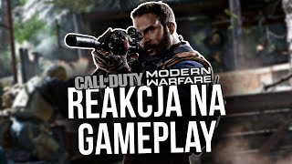 COD MODERN WARFARE Gameplay - Reakcja gracza BF/R6