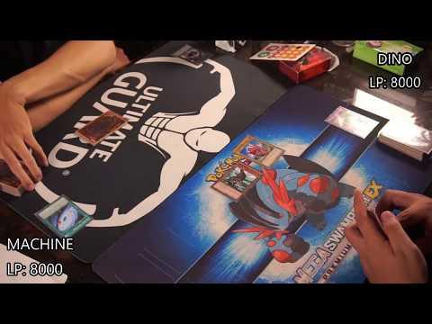 M2DA - Yugioh Real Duel :Machine Reactor vs Dinosmasher's Fury Structure deck