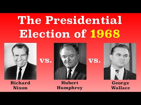 The American Presidential Election of 1968