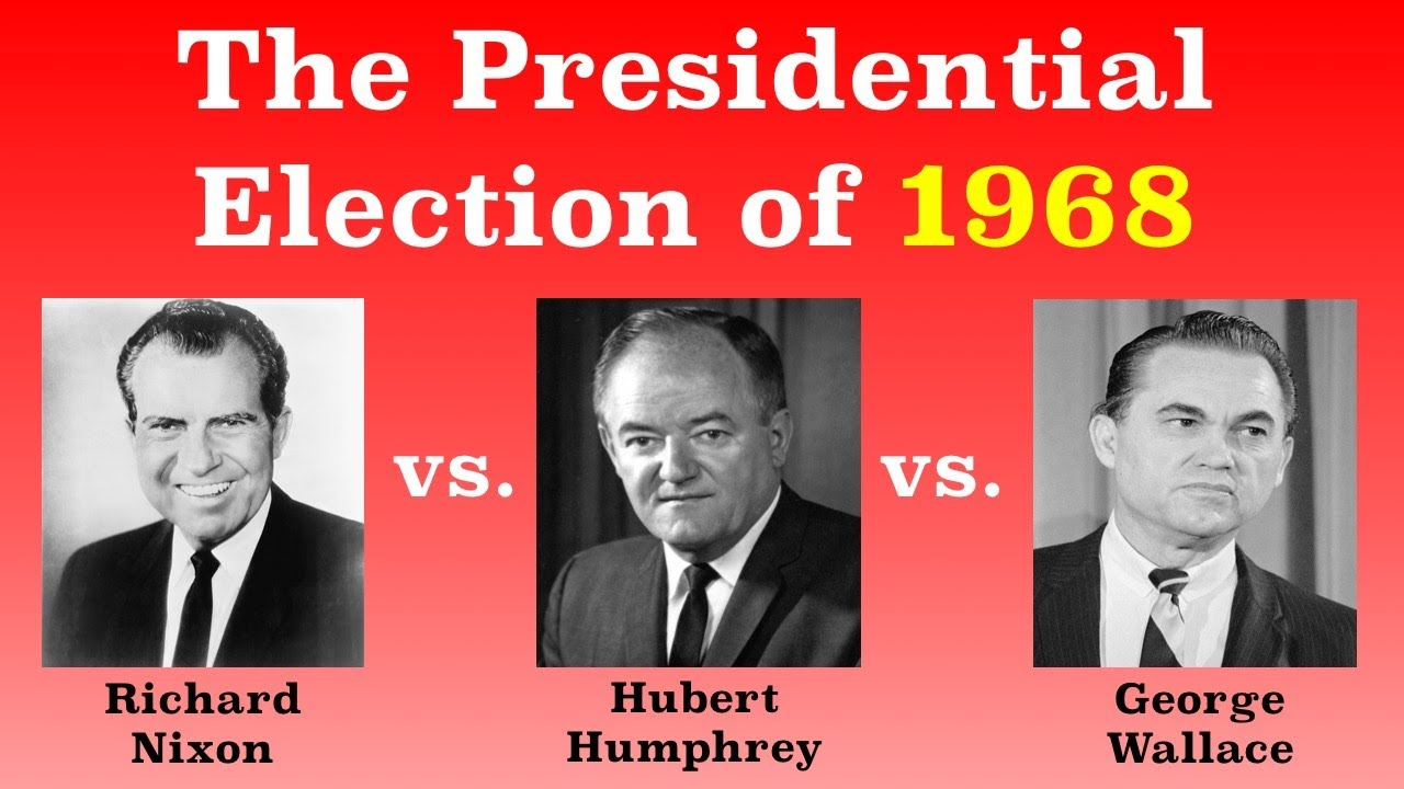 The American Presidential Election of 1968 - YouTube