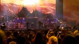 Justin Bieber - Never Say Never ft. Jaden Smith (Live At The Madison Square Garden) HD
