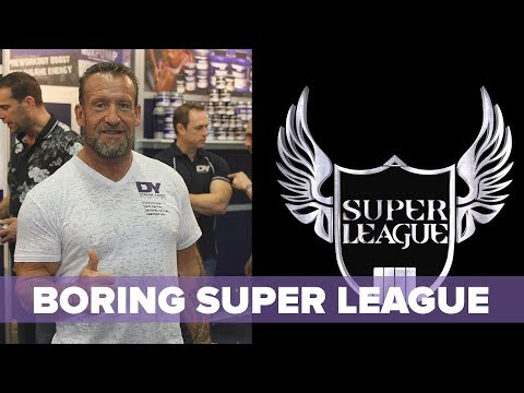 Dorian Yates' Super League - Dangerous, Boring, and Bicep Tears