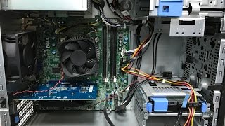 How to install Gigabyte nVidia GeForce GT 730 Graphics Card Dell Optiplex 9020 MT PC