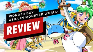 Wonder Boy: Asha in Monster World Review (Video Game Video Review)