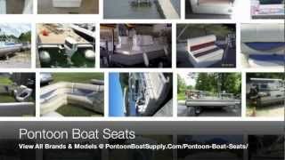 New & Used Pontoon Boat Seats And Replacement Covers For Furniture Or Seating Parts On Pontoons