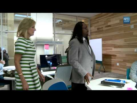 On the Road: Dr. Biden Visits Community Colleges in Florida and Texas