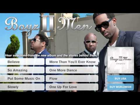 "Boyz II Men - 'Twenty' Album Preview Part 6: ""One More Dance"""