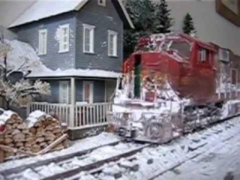 BNSF Winter Wonderland Spur 1/Gauge 1 USA Trains