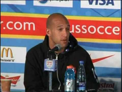 Pre world-cup interview with Tim Howard