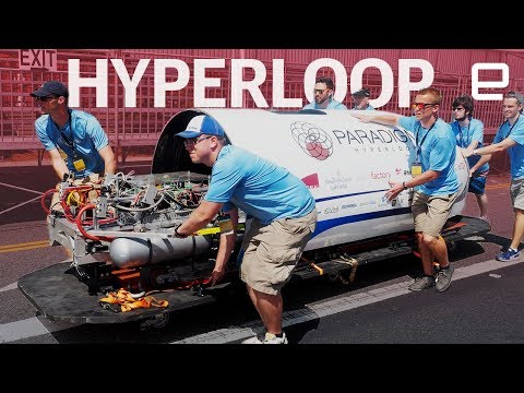 Inside SpaceX's Hyperloop Pod Competition 2017