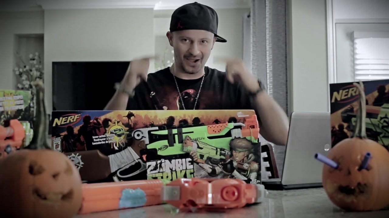 ZOMBIE Apocalypse Nerf Gun Arsenal