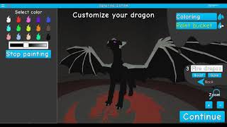 roblox dragon life: how make a dragon skin / comment faire un skin de dagon