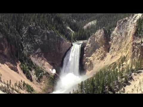 Yellowstone National Park- Lower Falls of the Yellowstone - Artist Point - HD