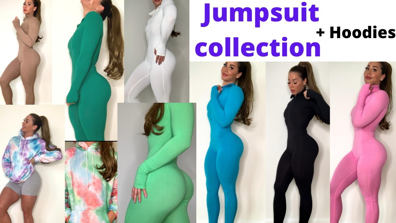 CLOTHING HAUL - my Jumpsuit and hoodie collection