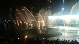 The Dubai Mall - The Dubai Fountain October 6th, 2014