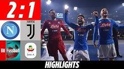 Genialer Insigne ärgert Juve | Neapel - Juventus 2:1 | Highlights | Serie A