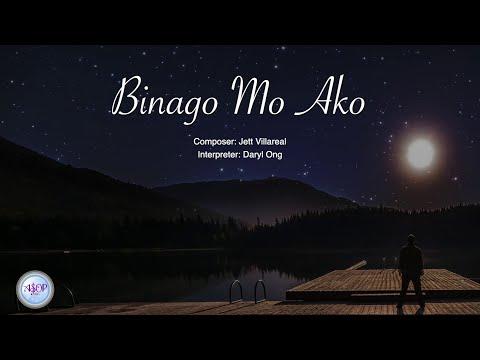 Daryl Ong - Binago Mo Ako by Jett Villareal | Lyric Video
