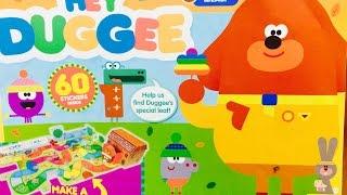 HEY DUGGEE Magazine Sticker Activity Book!
