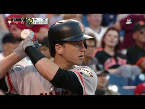 August 02, 2016-San Francisco Giants vs. Philadelphia Phillies
