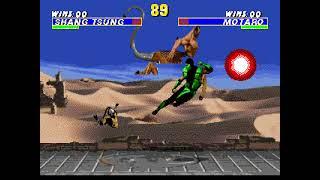 "[TAS] Genesis Ultimate Mortal Kombat 3 ""playaround"" by Dark Noob & KSYLATRON in 26:35.58"