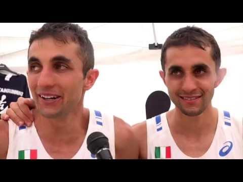 Martin and Bernard Dematteis European Mountain Running gold and silver in Arco