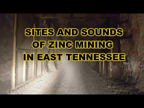 Zinc Mining In East Tennessee, Sites And Sounds Of Hard Rock Mining Operations
