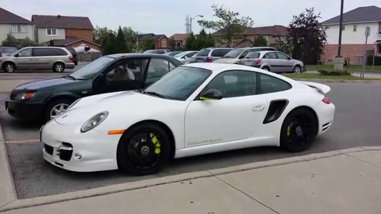 White Porsche 911 Turbo S Edition 918 Spyder Youtube