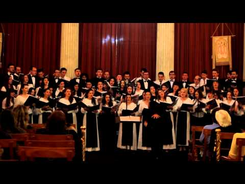 "World Voice Day 2014 - University of Athens Mixed Choir & University of Iasi ""Cantores Amicitiae"""