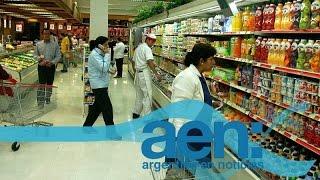 Crecimiento en ventas en shoppings y supermercados - julio - AEN 28-08 11HS.