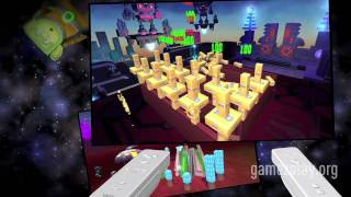 Steven Spielberg Boom Blox Bash party Nintendo Wii video game trailer
