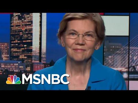 Senator Elizabeth Warren First 2020 Candidate To Call For Impeachment   Rachel Maddow   MSNBC