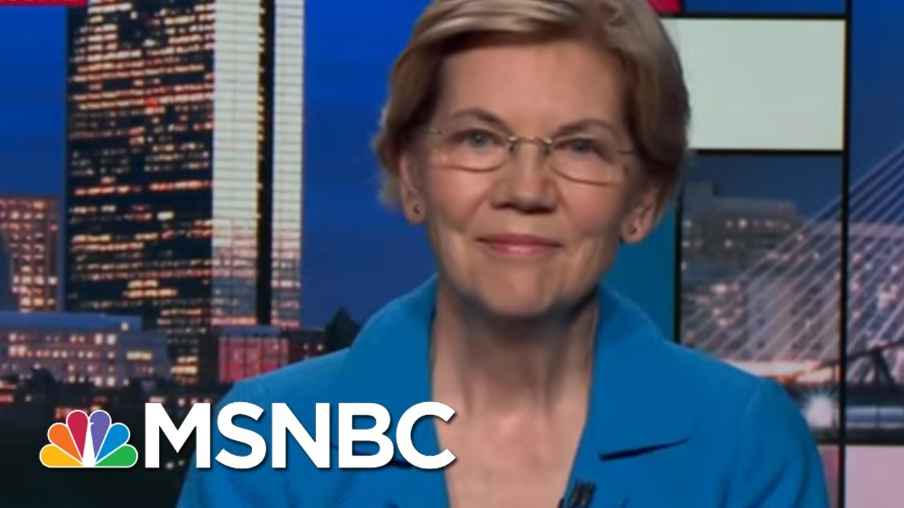 Sen. Elizabeth Warren Calls for Trump to Be Impeached