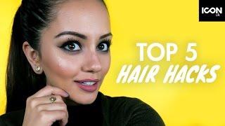 Top 5 Healthy + Glossy Hair HACKS + TIPS | Kaushal Beauty, Leyla Rose, Zoe London Best Bits