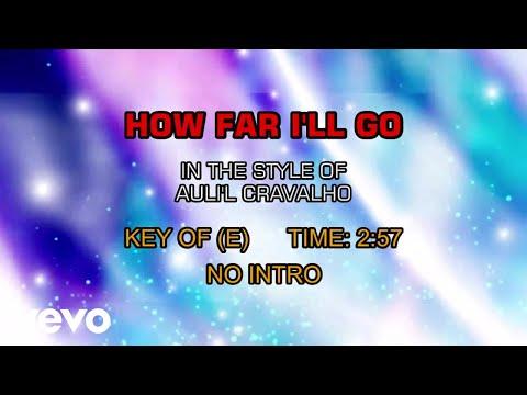 Auli'i Cravalho - How Far I'll Go (Karaoke)