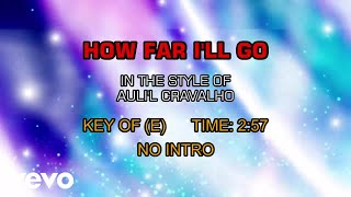 Auli 39 I Cravalho How Far I 39 ll Go Karaoke.mp3