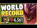 *REWORK* 4500+ ARMOR MALPHITE (NEW WORLD RECORD) - League of Legends