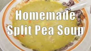 Homemade Split Pea Soup (med Diet Episode 73)
