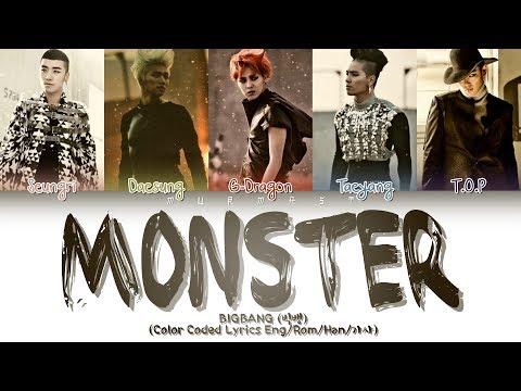 BIGBANG (빅뱅) - MONSTER (Color Coded Lyrics Eng/Rom/Han/가사)