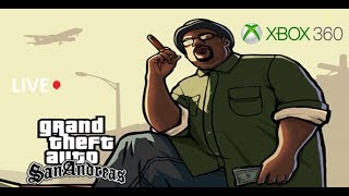 GTA: San Andreas [Xbox 360] Full Game Playthrough {Part 1/2} [Live Stream] (No Commentary)