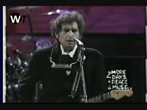 BOB DYLAN -  I Shall Be Released (Live In Woodstock 1994)