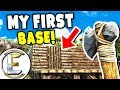My First Base - ARK Life Survival Evolved Day 2 (I'm So Proud Of Myself)