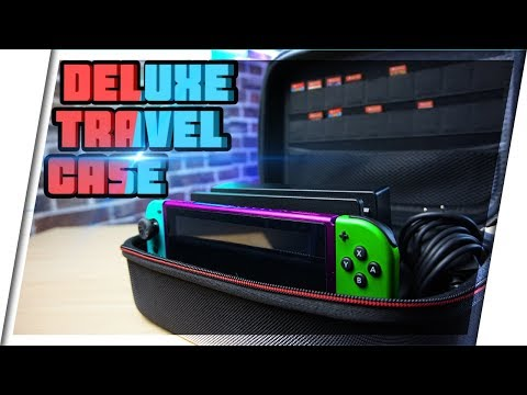 Deluxe Travel Case For Nintendo Switch | Must Have For Switch!!!