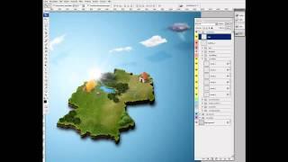 مجانا 3D خريطة مولد - عمل فوتوشوب