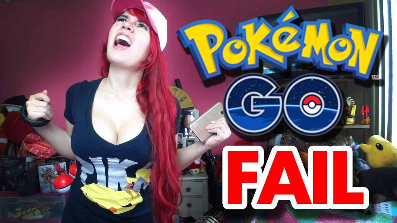 Pokemon go fail youtube for Www famil